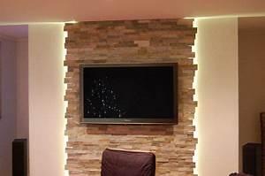 Steinwand Wohnzimmer Tv : wohnzimmer wohnzimmer pinterest wohnzimmer wandverkleidung und wohnzimmer ideen ~ Bigdaddyawards.com Haus und Dekorationen