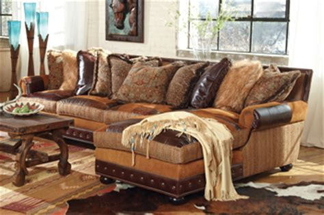 western leather sectional sofa prairie patchwork sectional sofa decor leather rustic