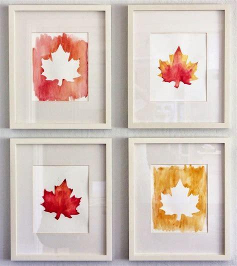 Herbstlaub Basteln Blaetter Deko Aus Papier by Herbstdeko Fenster Basteln Wohndesign Ideen