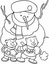 Winter Coloring Pages Sheets Ice Snowballs Any Cat Smooth Safe Light Little Snowman Throw Play Books Activities Scout Hat Wearing sketch template