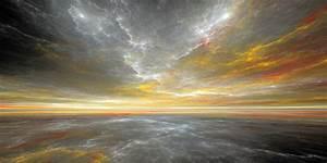 Waves, Sky, Fractal, Art, Abstract, 4k, Hd, Artist, 4k