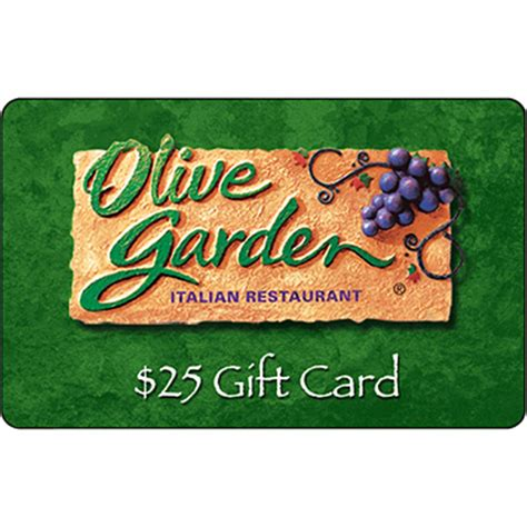 olive garden gift card olive garden gift card entertainment dining gifts