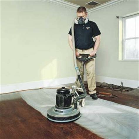 Buffing Hardwood Floors Without Sanding by Scuff Sand The Finish How To Refinish Wood Floors This