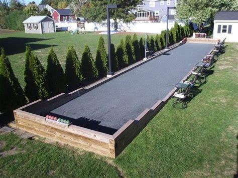 bocce ball plans  pinterest  pins landscaping