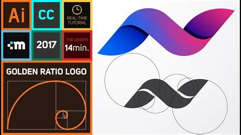 how to design a logo how to create golden ratio logo design in adobe