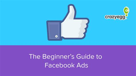 The Beginner's Guide To Facebook Ads
