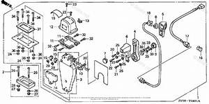 Honda Outboard Parts By Hp  U0026 Serial Range 50hp Oem Parts Diagram For Remote Control  Top Mount