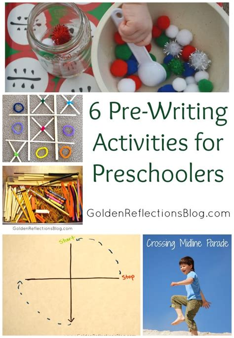pre writing activities for preschoolers 6 pre writing activities for 156