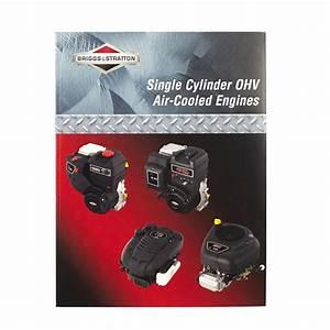 Briggs  U0026 Stratton Repair Manual For Single Cylinder Ohv