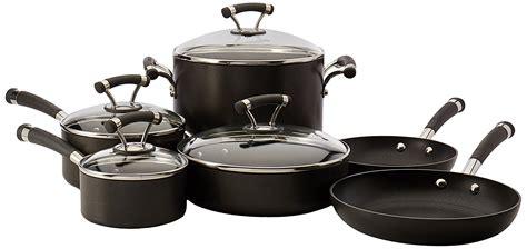 pots pans money hard cookware nonstick pan pot covered sets anodized contempo circulon piece saute 3quart skillets saucepans quart french