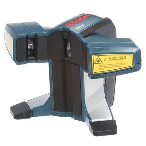 rotary laser level bosch 3 point self leveling laser level gpl3 the home depot