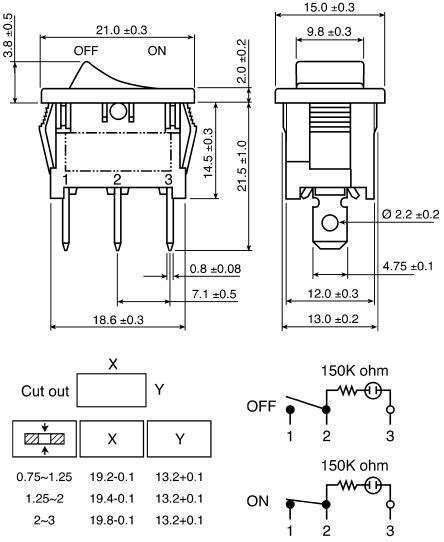 wiring radioshack spst neon rocker switch page 1