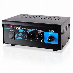 Pylehome - Pca2 - Home And Office - Amplifiers - Receivers - Sound And Recording