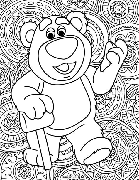 disney pixar printable coloring pages costume