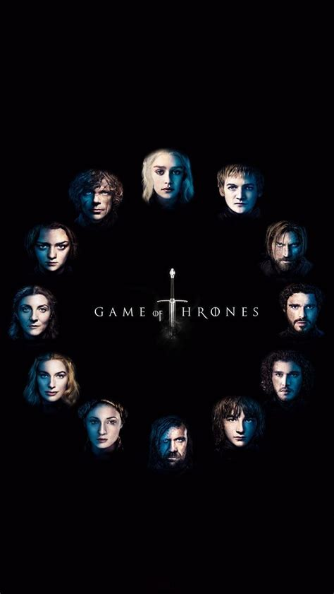 game  thrones faces iphonewallpaper iphone wallpapers