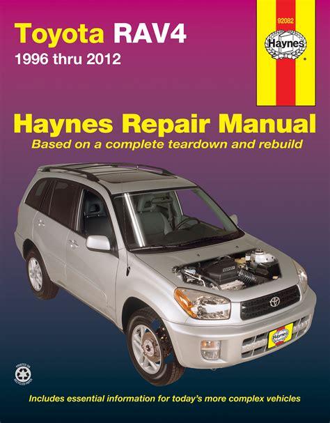 where to buy car manuals 2012 toyota rav4 lane departure warning toyota rav4 96 12 haynes repair manual haynes manuals