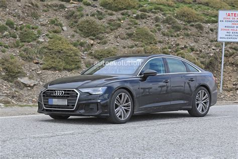 2019 Audi S6 by 2019 Audi S6 Sedan Spied With Exhaust Autoevolution
