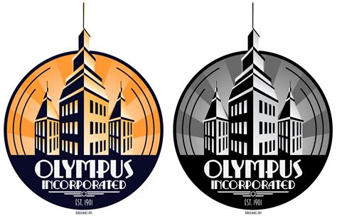 olympus incorporated deco logo by derkasnake on deviantart