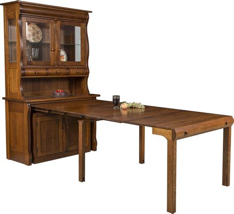 flanders hutch island table countryside amish furniture