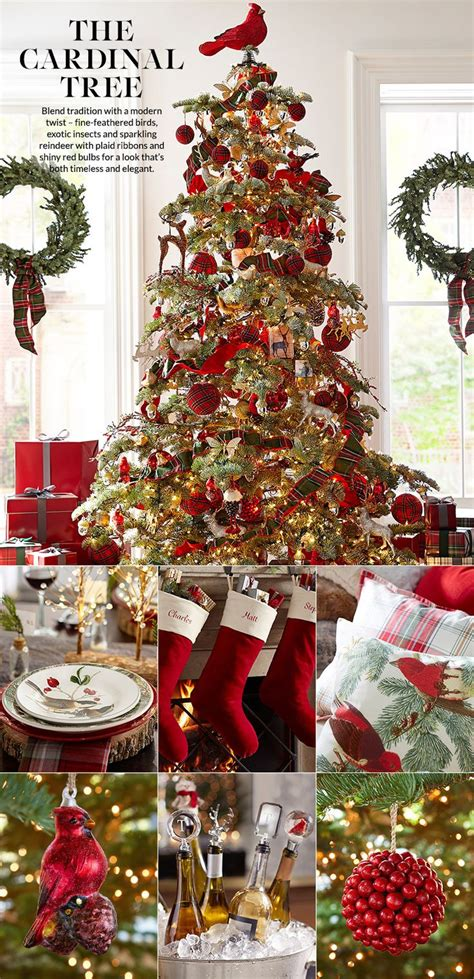 pottery barn christmas ideas  pinterest