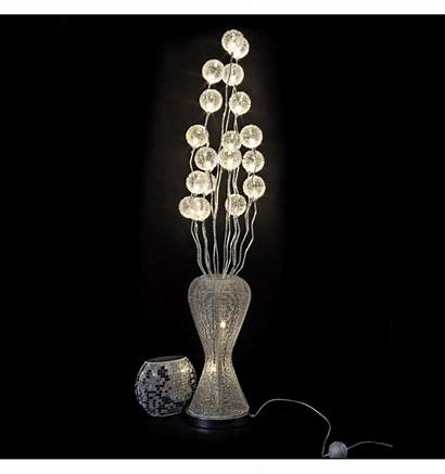 Vase Lamp Flower Led Aluminum Barbara Floor