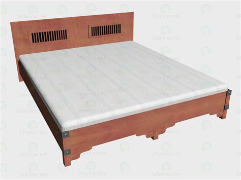 bed 180 x 220 3d model bed 180x220 vox for free