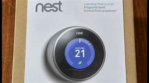 Install  Nest Learning Thermostat 2nd Generation