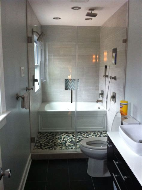 Narrow Bathroom  Bathroom Ideas  Pinterest Shower