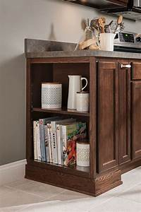 12 inch open base cabinet aristokraft cabinetry