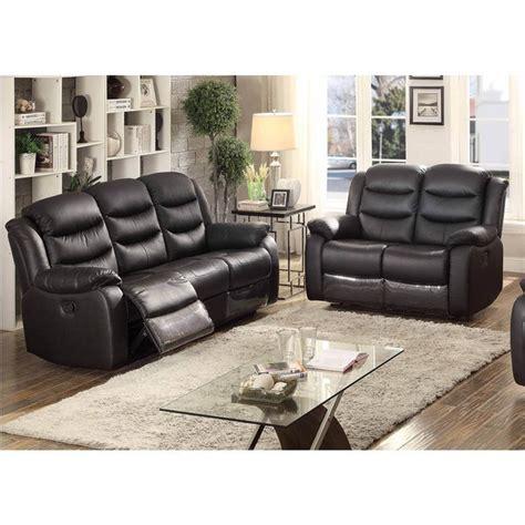shop bennett  piece black leather transitional living