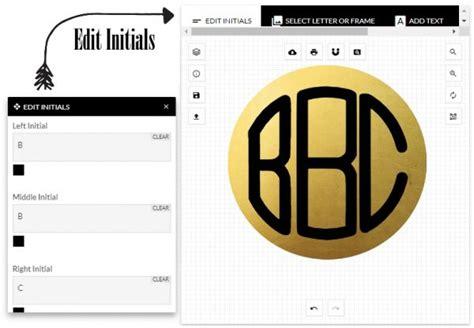monogram maker  monograms