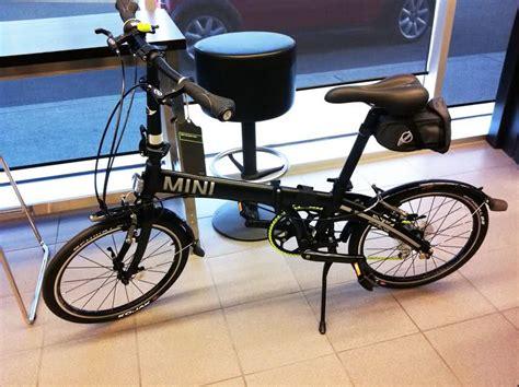 mini folding bike mini cooper folding bike review