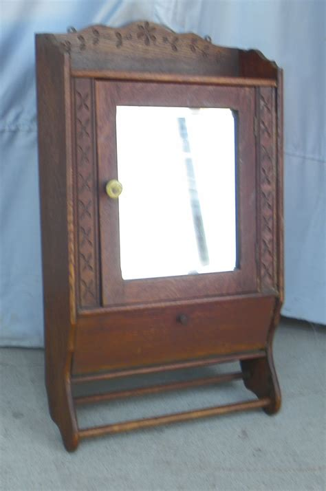vintage medicine cabinet bargain s antiques 187 archive oak antique