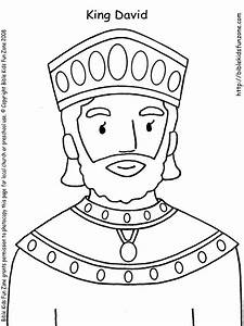 David Anointed King Coloring Page Coloring Pages