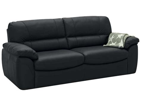 conforama canape fixe 3 places canapé fixe 3 places vesuve coloris noir canapé