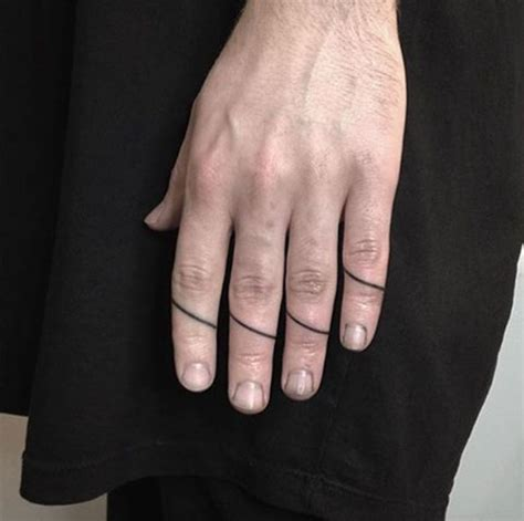 40+ Awesome Finger Tattoos for Men and Women - TattooBlend