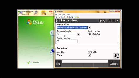 how to setup a rtk survey style in trimble access youtube