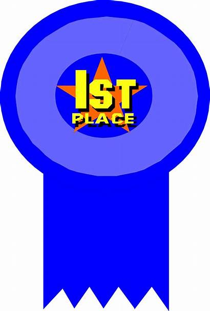 Ribbon Place 1st Clip Award Clipart 2nd