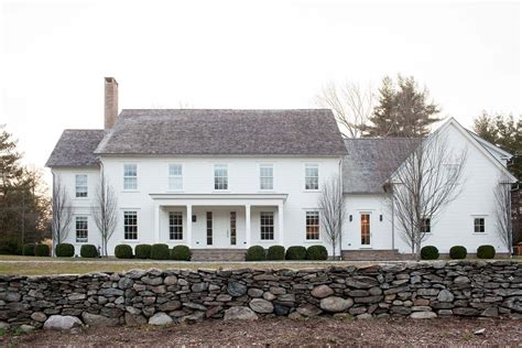 one level house plans with basement a modernized version of a farmhouse in connecticut