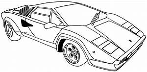 Printable Coloring Pages Sports Cars Printable Pages