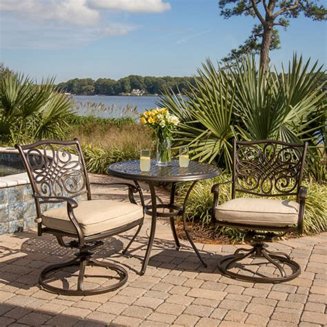 hanover traditions 3 outdoor bistro set seats 2