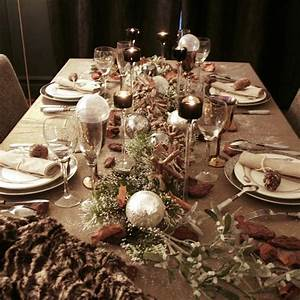 Table De Noel Traditionnelle : d co de no l comment dresser une belle table pour les ~ Melissatoandfro.com Idées de Décoration