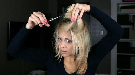 diy  home soft long layer haircut youtube