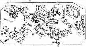 Honda Motorcycle 1984 Oem Parts Diagram For Carburetor Assy