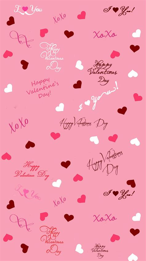 Valentine's Day Background for iPhone