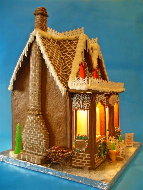 goodies bakery gingerbread house  cakecentralcom