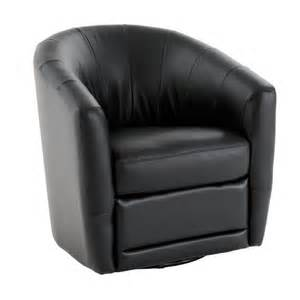 natuzzi editions natuzzi a835 066 black swivel chair baer s furniture upholstered chairs