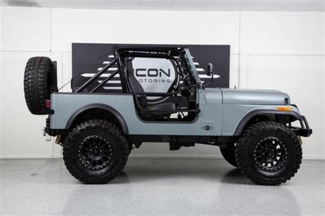flat gray jeep 17 best images about cj 7 renegade on pinterest radios