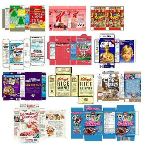 Toy Box Label Template Doll Clothes by Assorted Cereals Scrapbook Printables Pinterest