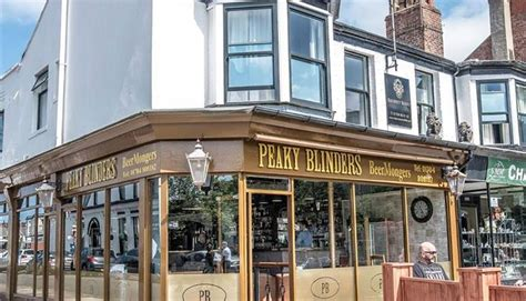 blinder cuisine peaky blinders bar themed in southport southport
